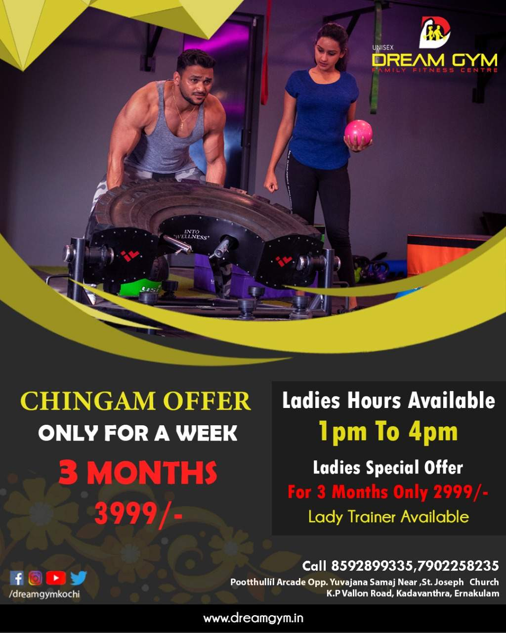 Top Gyms in High Court Road-Ernakulam North - Best Body