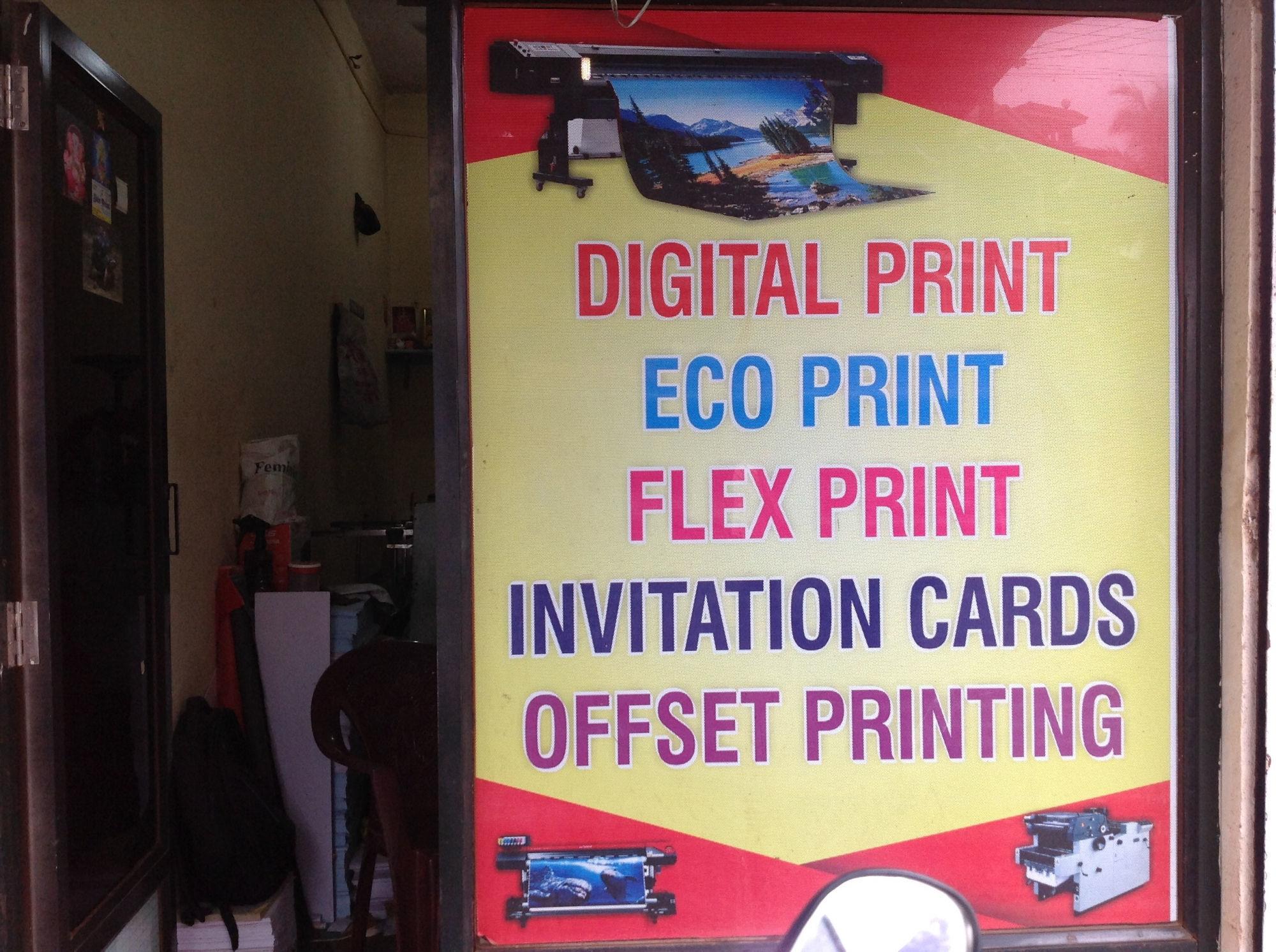 Vinyl sticker printing services in ponda goa
