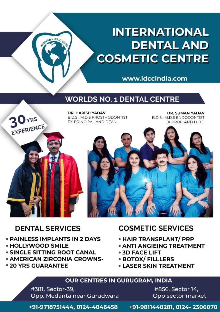 Top 30 Dentists in Gurgaon Sector 14 - Best Dental Clinics