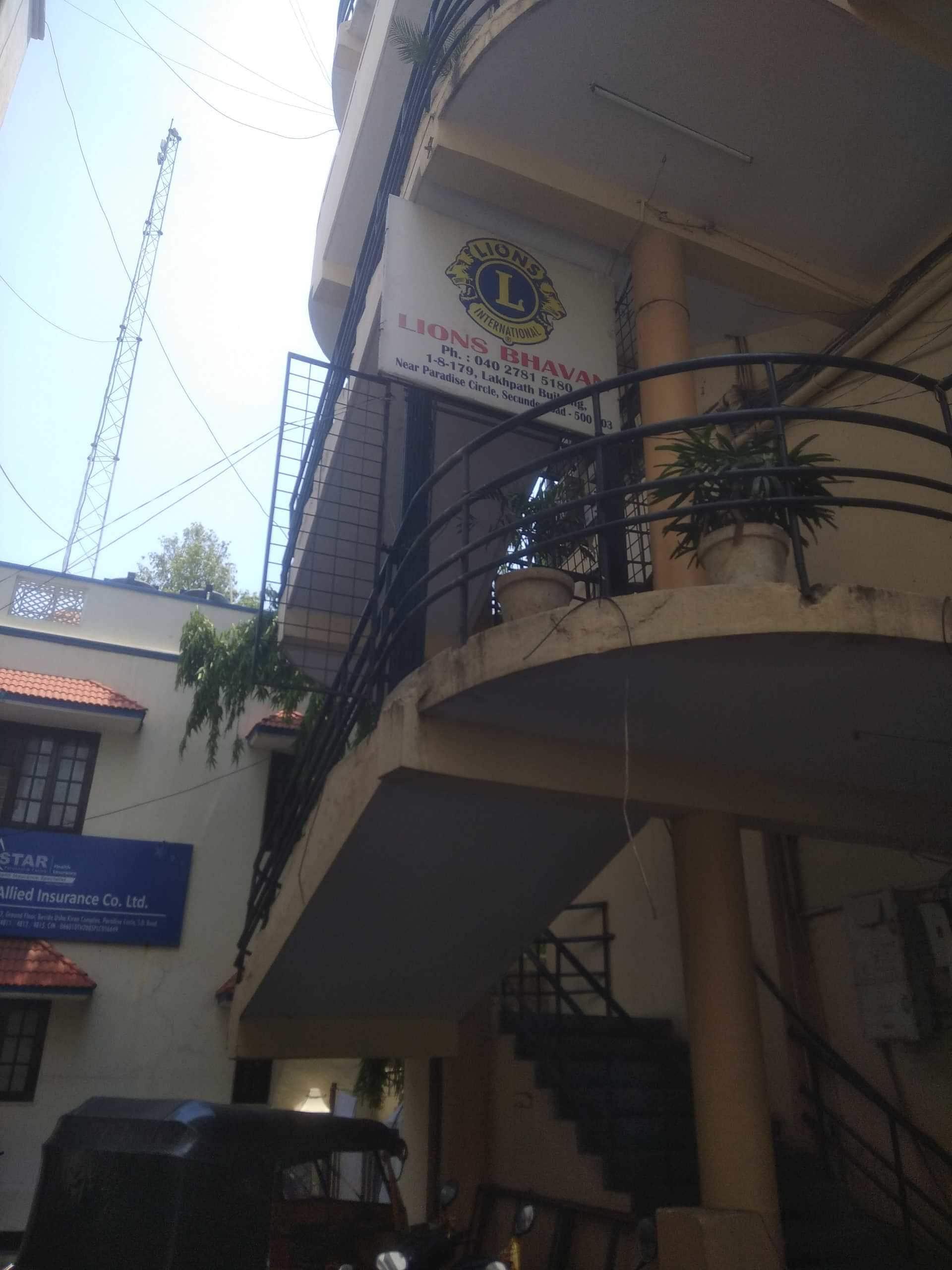lions bhavan banquet hall hyderabad t62fatfgo3 - Le Palais Royal And Crown Villa Gardens Secunderabad Telangana