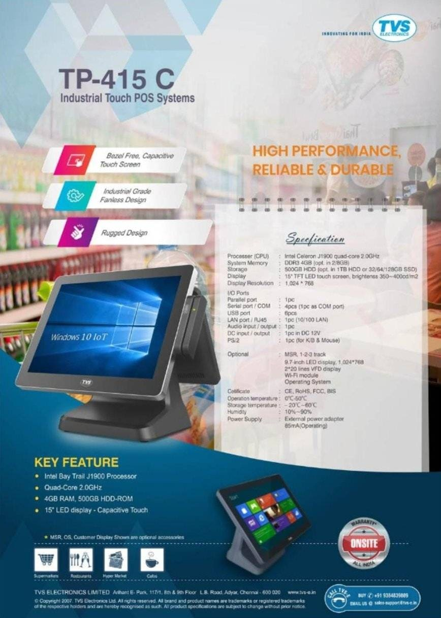 Top Tvs E Barcode Scanner Wholesalers in Hyderabad - Best Tvs E