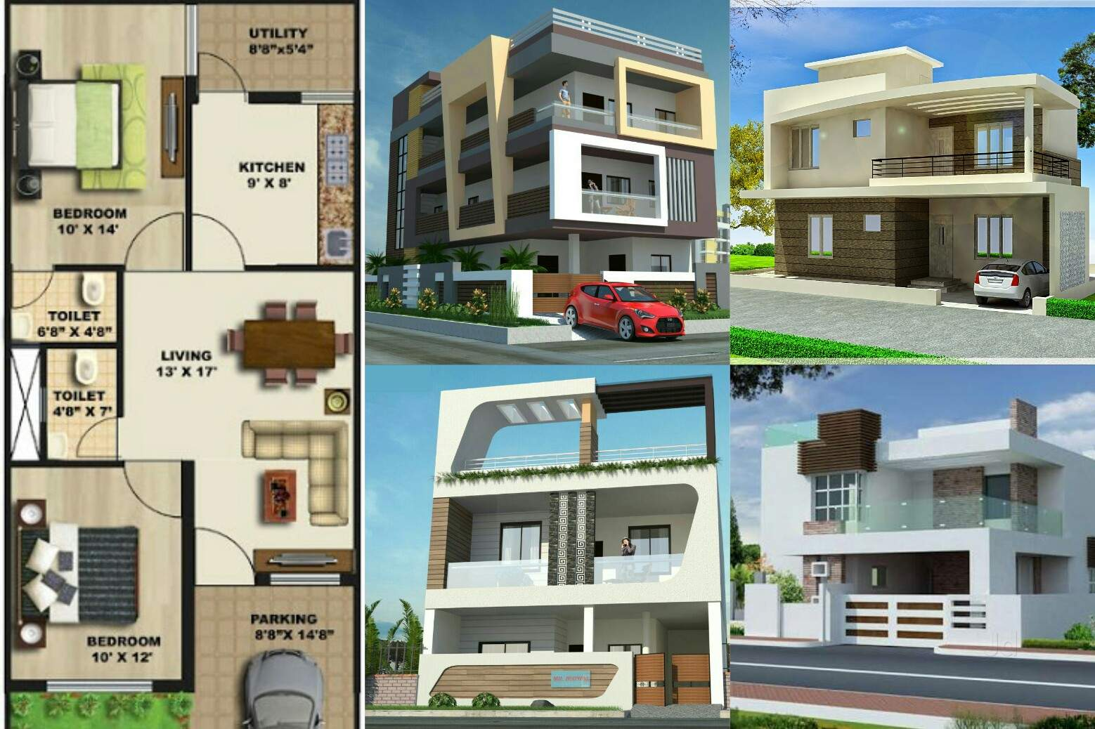 Top Building Elevation Job Works in Indore - Justdial