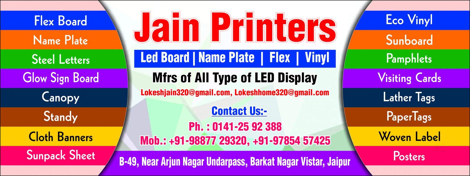 Top 100 Flex Printing in Jaipur - Best Flex Banner Printing