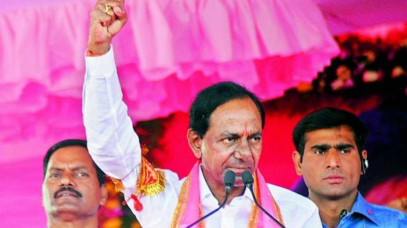 After Congress leader K Jana Reddy's defeat, KCR is the only