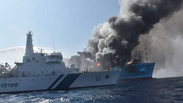 MT Maharaja Agrasen ship fire: Electrical engineer Tejo