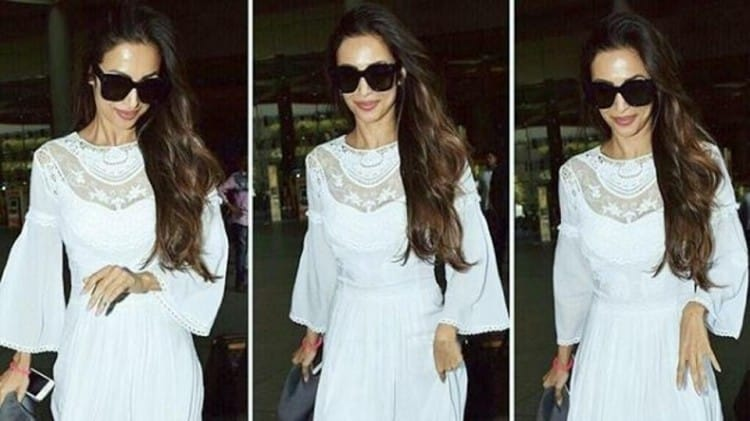 9a3e2cb28b2 Malaika Arora s maxi dress is great for a hot day but even better for a  cool ev.