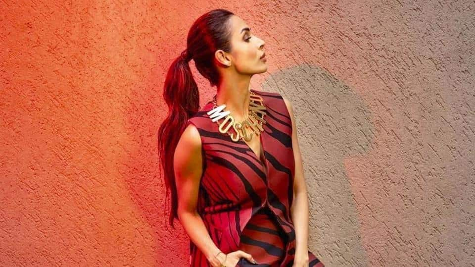 968acb20c36 Malaika Arora s animal print dress proves she s a style queen. Get her look