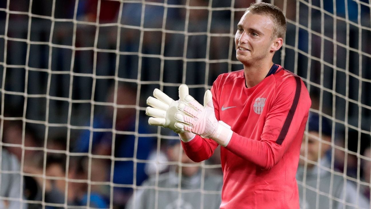 c1ea3316d Barcelona s Jasper Cillessen refuses to get angry over lack of game-time