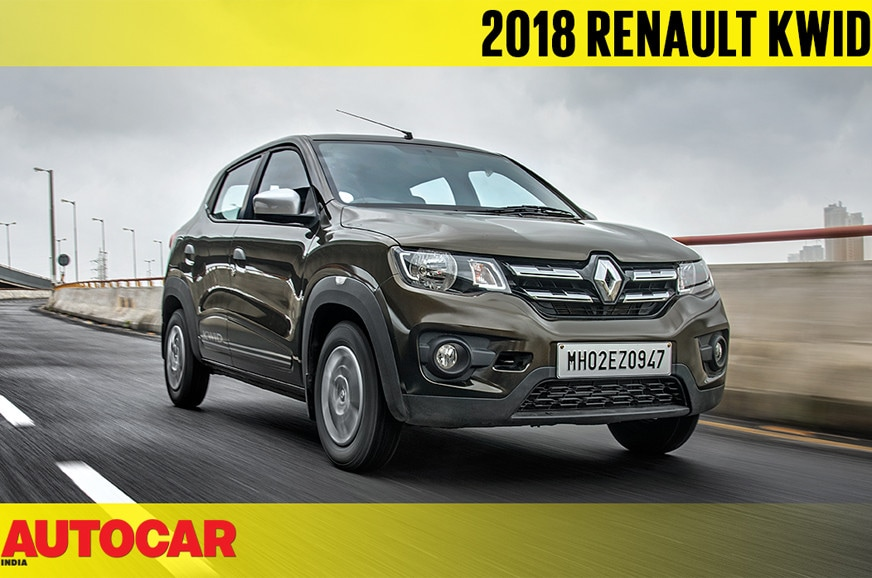 Review: 2018 Renault Kwid 1 0 AMT review, test drive