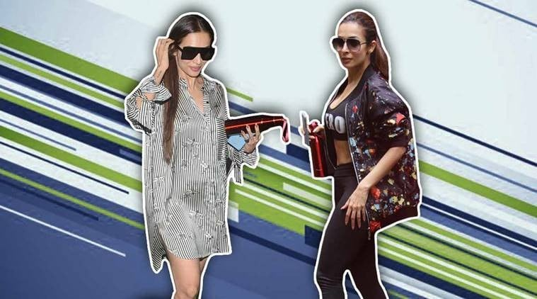 7b0cc4a30ca Malaika Arora s casual one-piece will convince you to skip the dress and is  also.