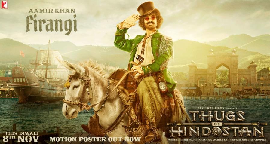 ::Thugs Of Hindostan (2018) Hindi Web-DL 1080p 720p 480p::