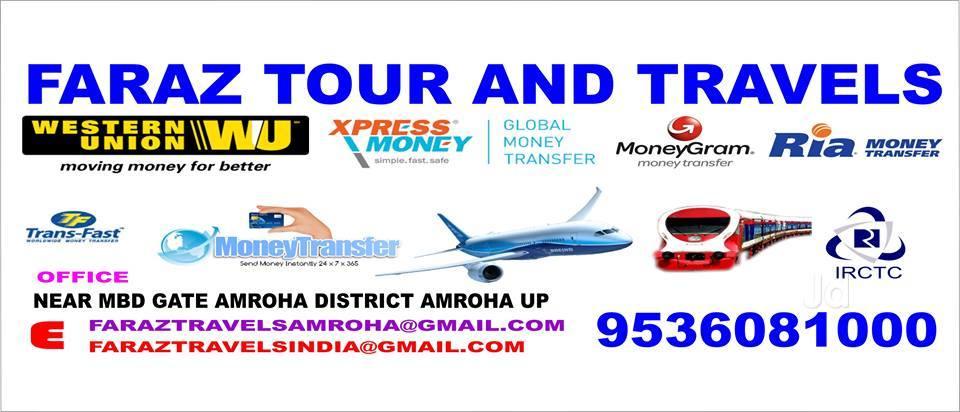 Ria Money Transfer Agencies Amroha Jyotiba Phule Nagar