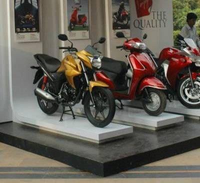 Elegant Honda Motorcycle Dealers Mac Robert Gunj, Kanpur