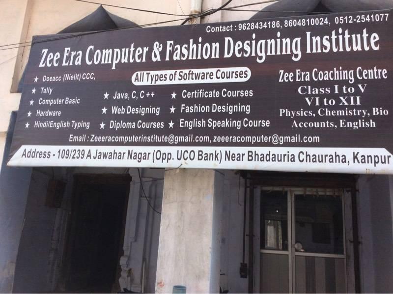 Zee Era Computer Fashion Designing Institute Jawahar Nagar Computer Training Institutes In Kanpur Justdial