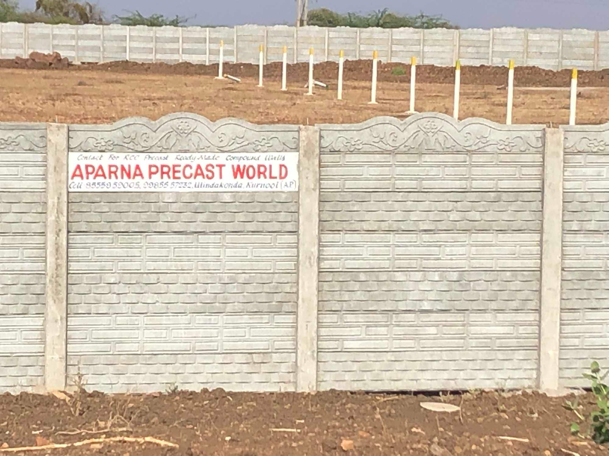 Top Precast Boundary Wall Manufacturers in Kurnool HO