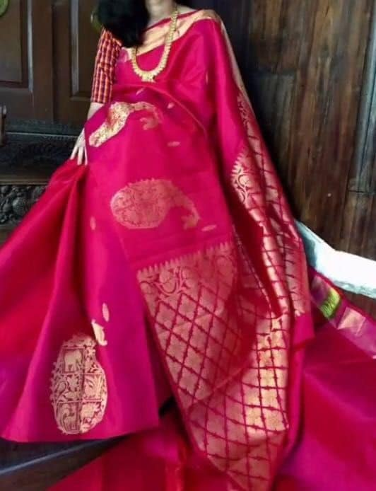 291245a9df Top Uppada Silk Saree Manufacturers in Madanapalle - Best Uppada ...