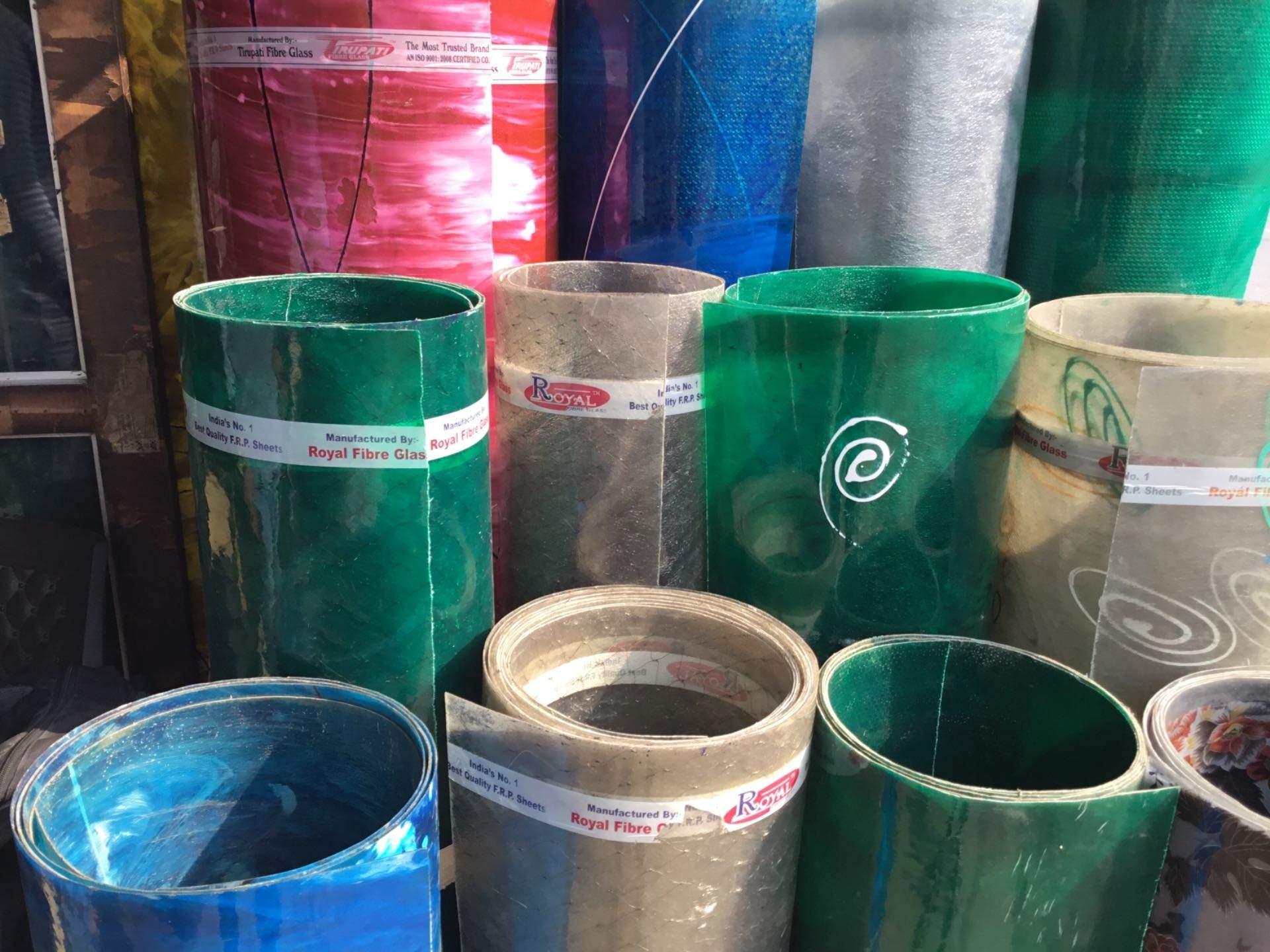 Top Translite Fibreglass Sheet Dealers in Delhi Road Meerut