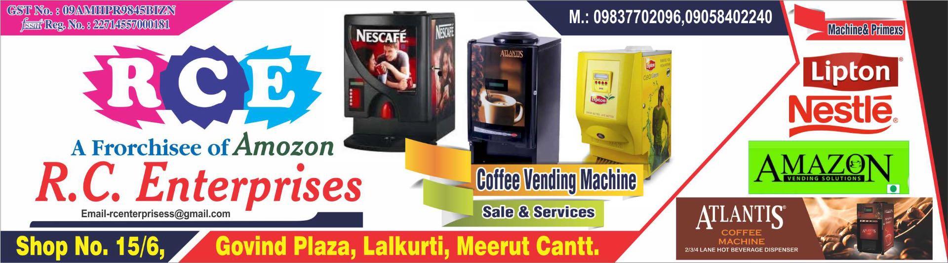 Top Tea Vending Machine Repair & Services in Meerut - Best Tea
