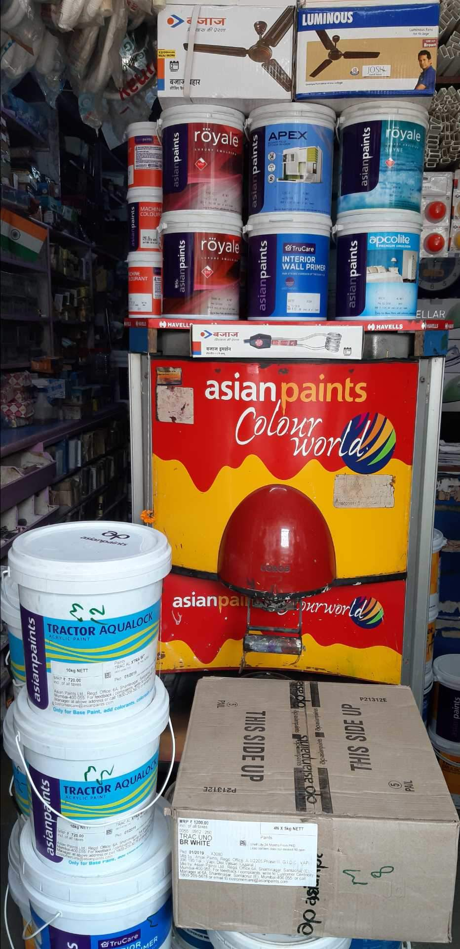 7a2b9599b970 Top Chetak Gold Distemper Paint Dealers in Naupada-Thane West - Best ...