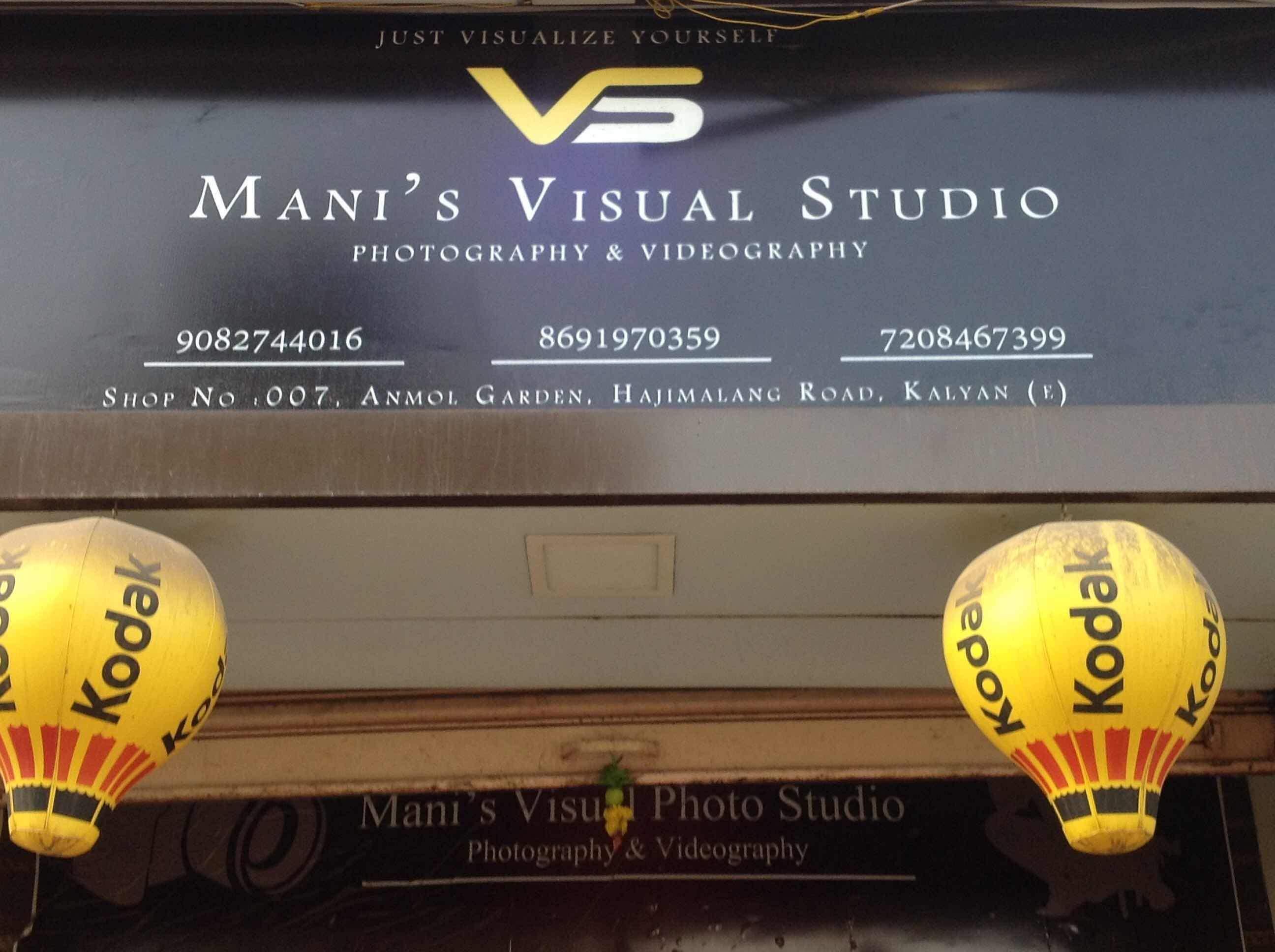 Manis Visual Studio Kalyan East Photographers In Thane Mumbai Justdial