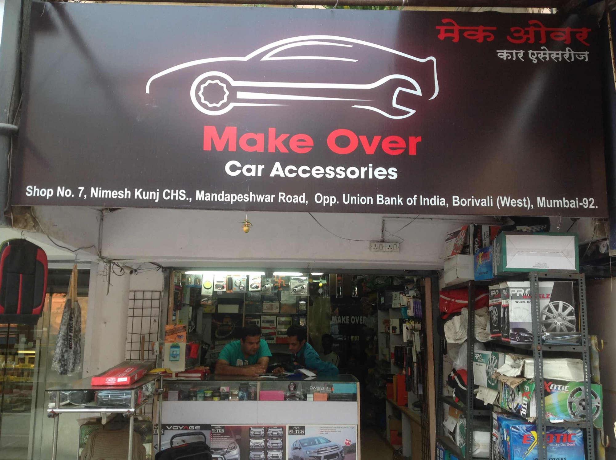 Auto Accessories Store >> Make Over Car Accessories Borivali West Car Accessory