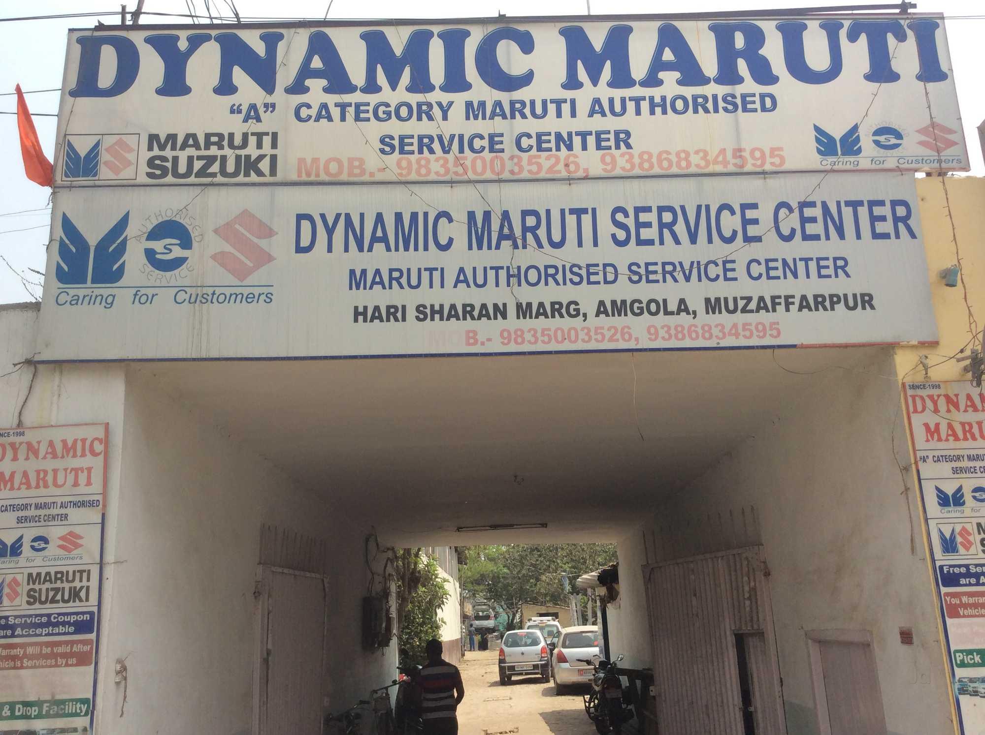 Dynamic Maruti Service Centre Amgola Car Repair Services Maruti Suzuki In Muzaffarpur Justdial