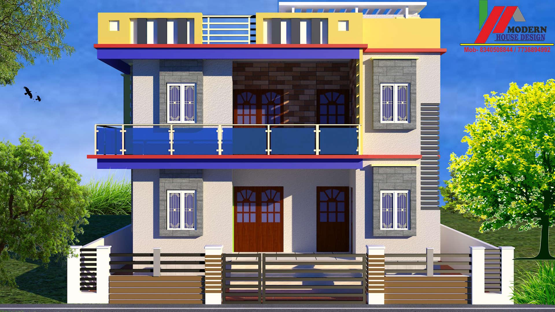 Modern House Design Durga Sthan Manddir Architects In Muzaffarpur Justdial