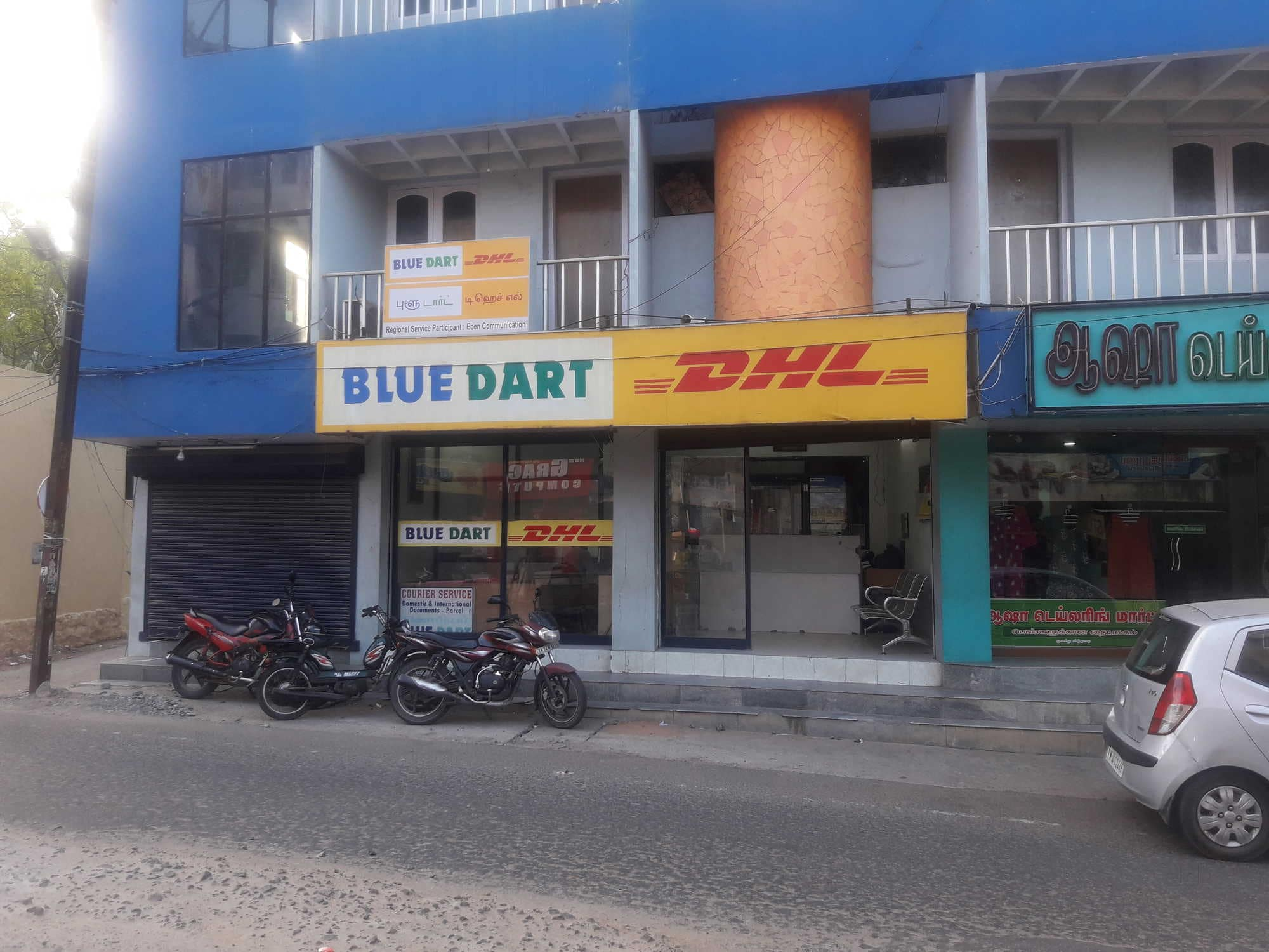 Top Blue Dart Domestic Courier Services in Chetti Kulam