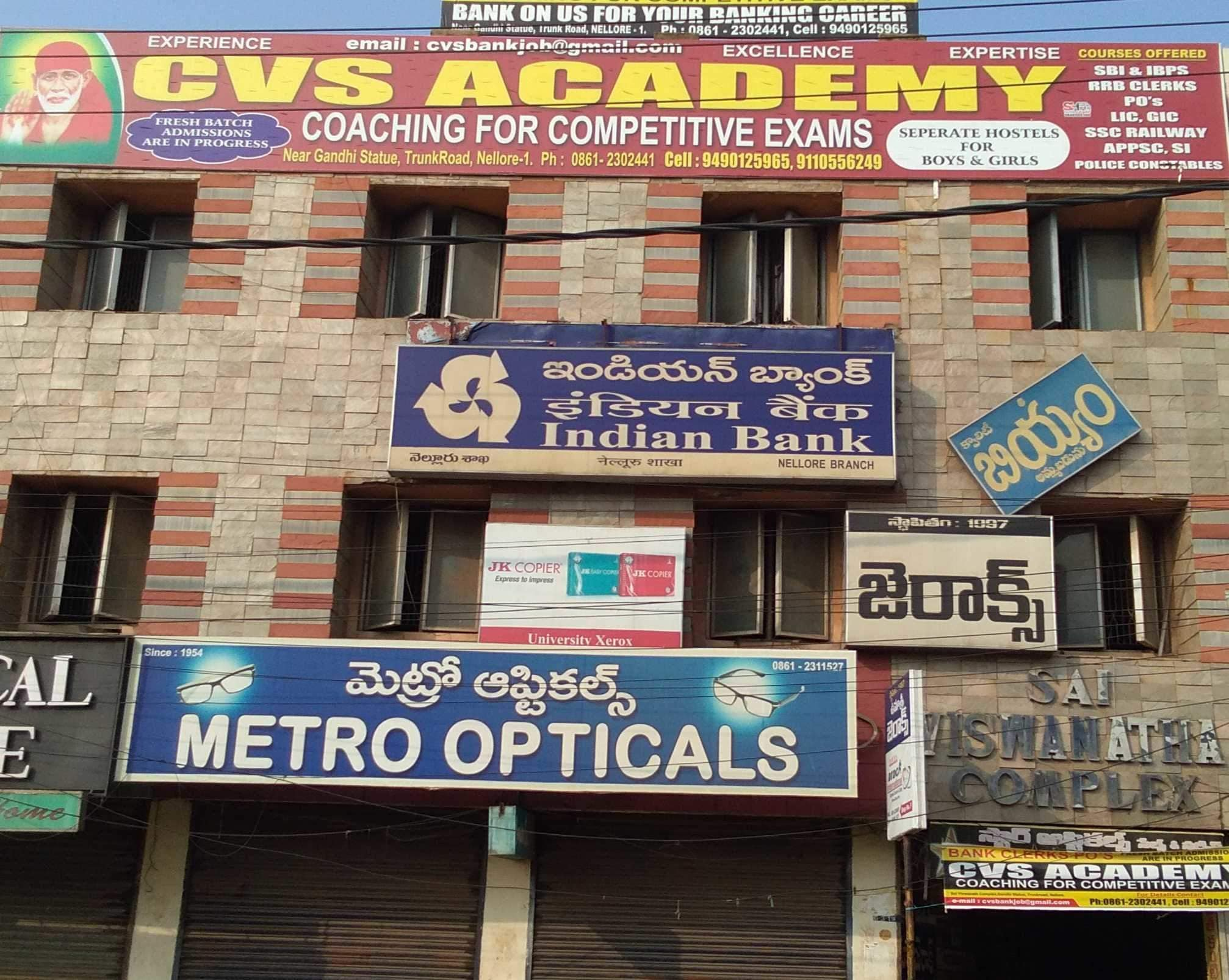 Top 20 Competitive Exam Coaching in Nellore - Best Competitive Exam