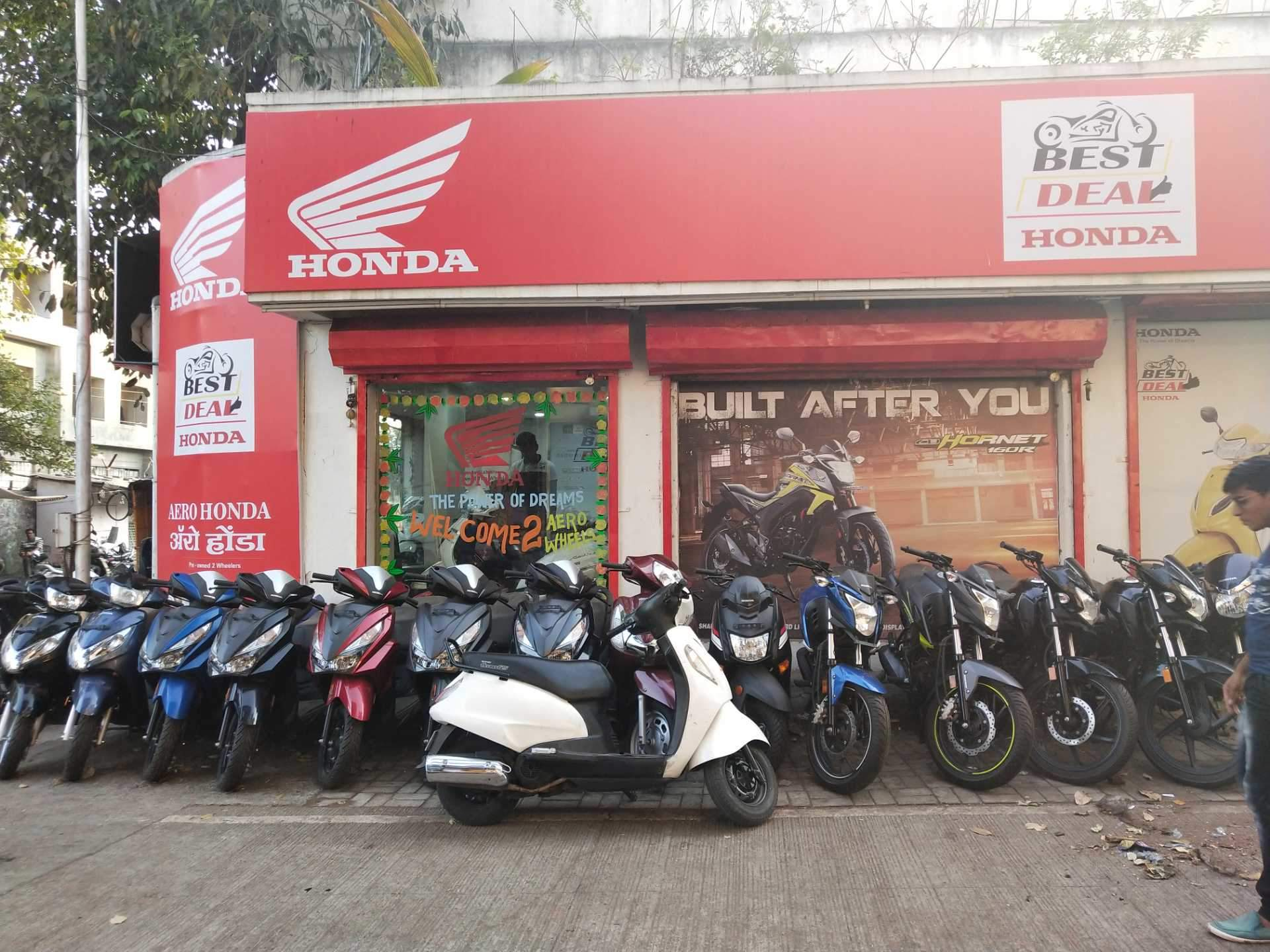 Top Honda Bike Showrooms in Pirangut - Authorised Honda