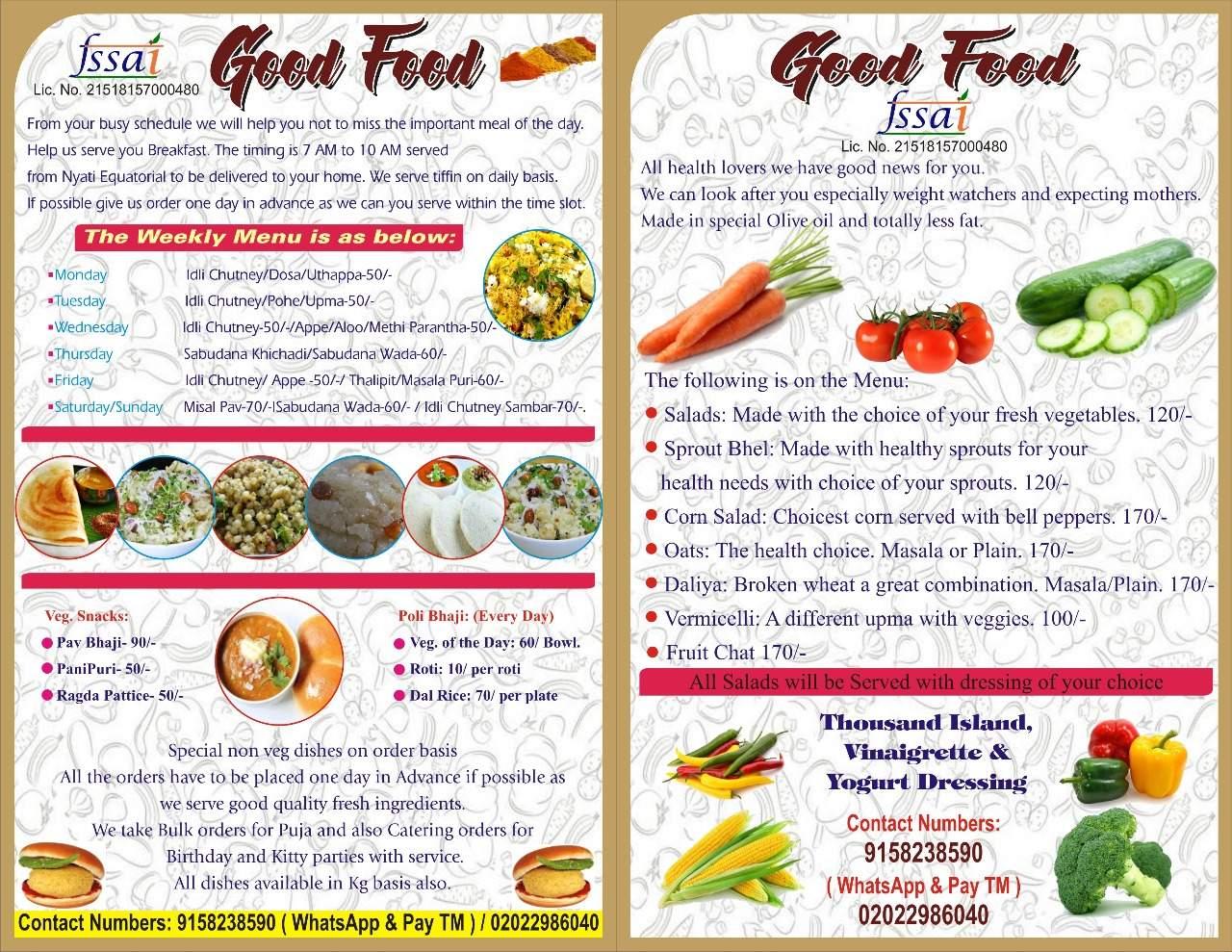Top 10 Tiffin Services in Bavdhan, Pune - Best Home Food