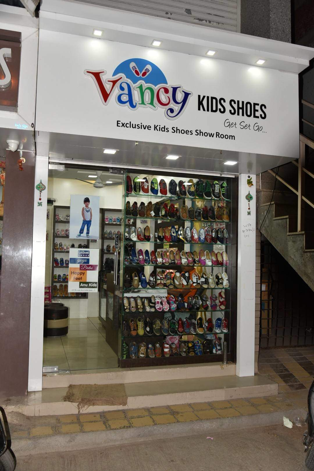 Vancy Kids Shoes, Yagnik Road - Shoe