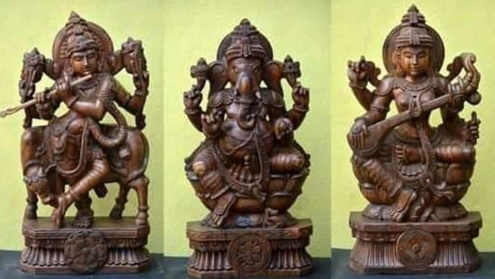 Thammampatti Wood Carvings-Durairaj Wood Carvings, Near Murugan Kovil Arch  - Statue Manufacturers in Salem - Justdial