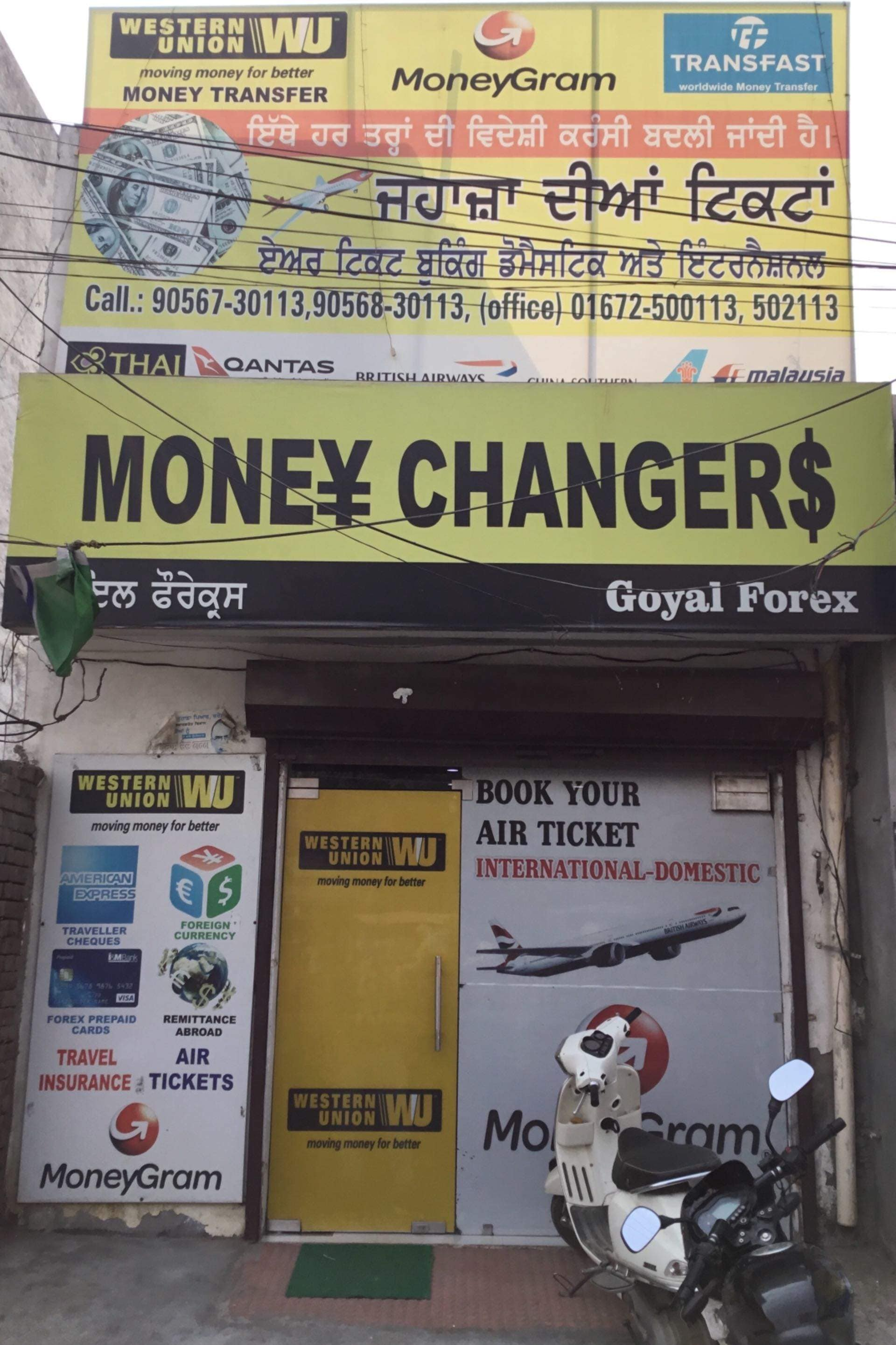 Top 10 Western Union Money Transfer Agencies in Sangrur