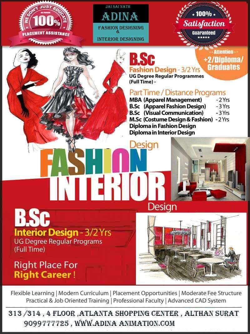 Adina Animation Althan Fashion Designing Institutes In Surat Justdial