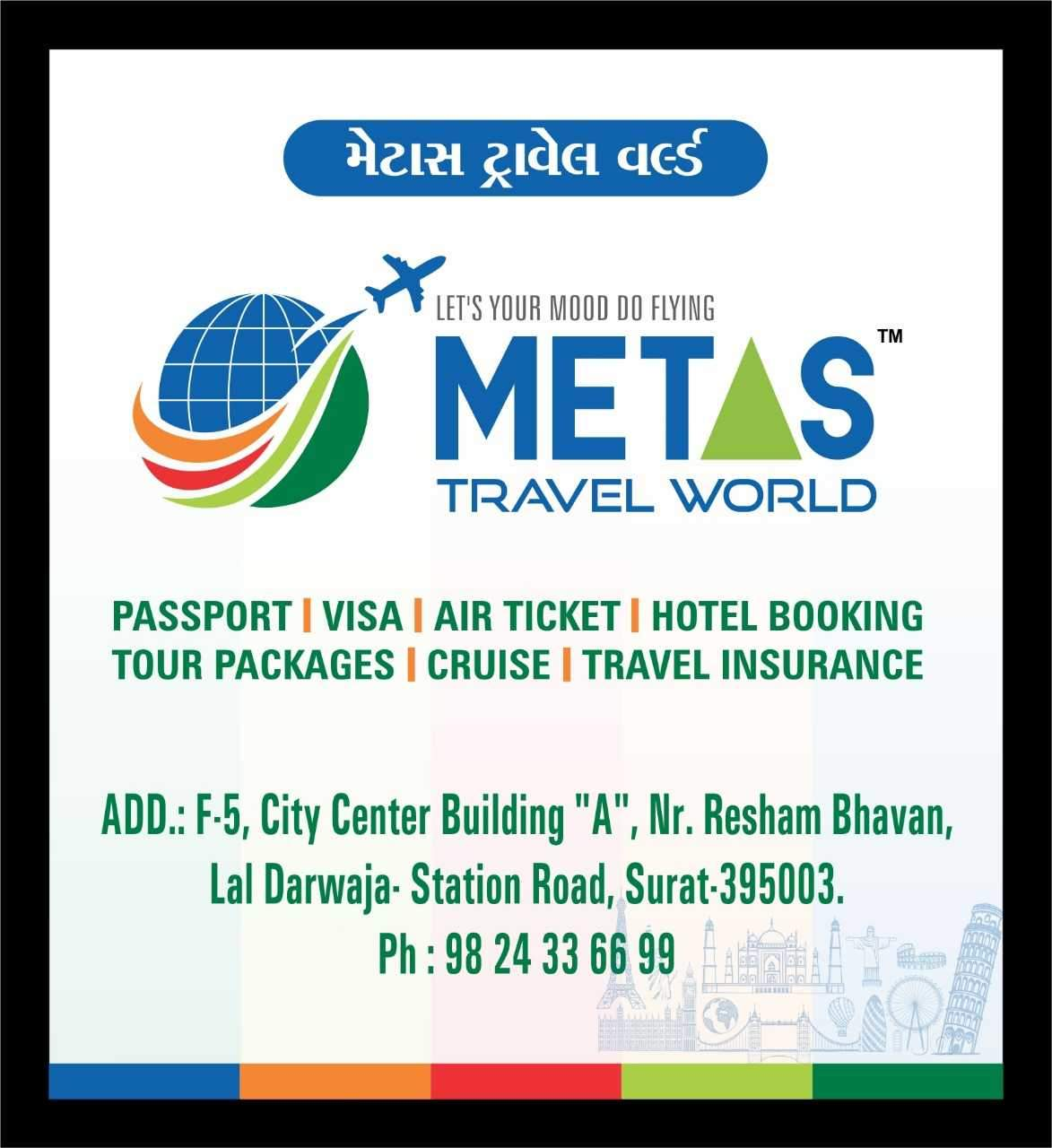 Top 30 Iata Approved Travel Agents in Surat - Justdial