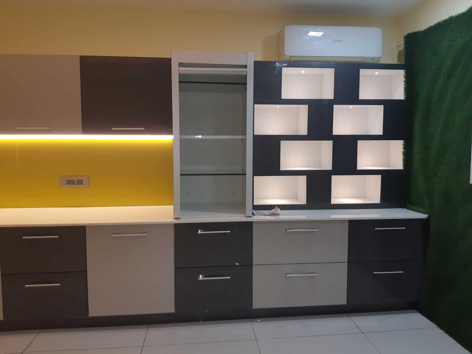 Marvel kitchen wardrobe workstation, Mg Road   Furniture Dealers ...