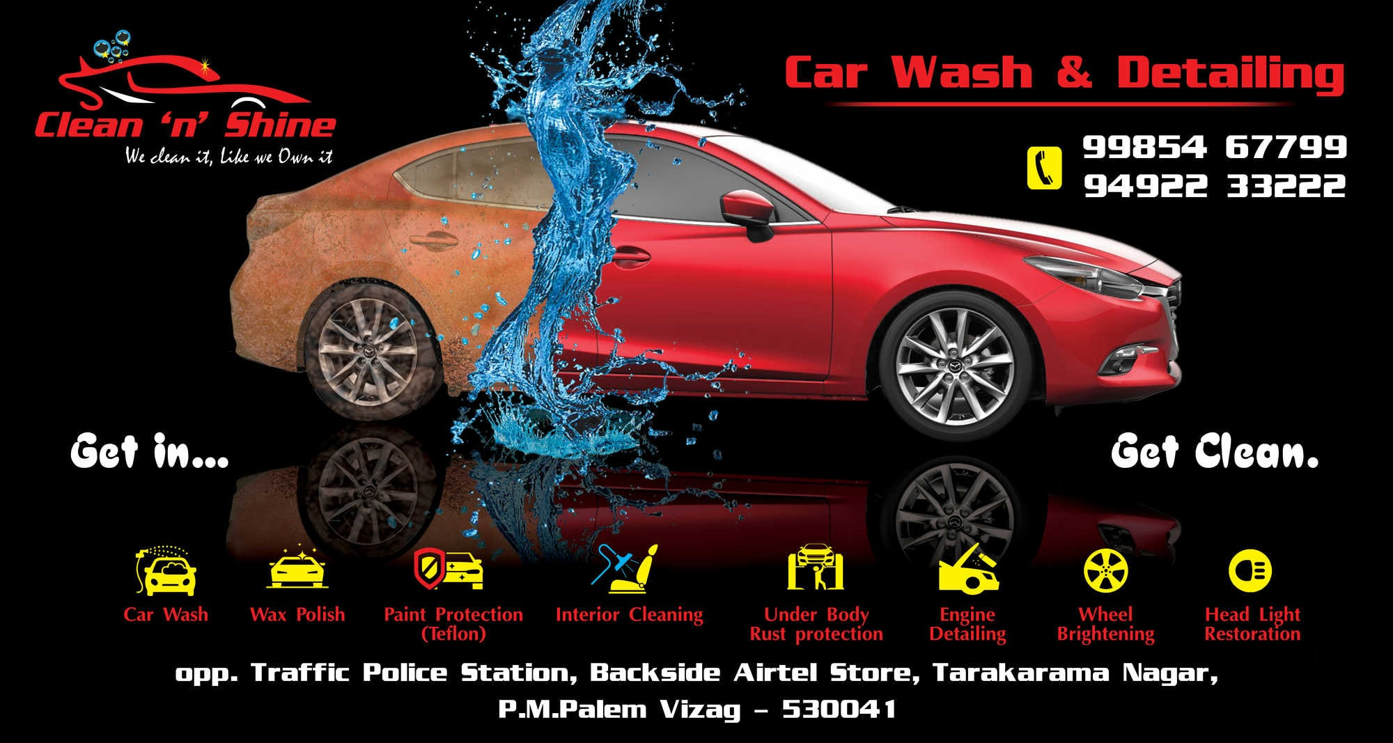 Car Interior Cleaning Services Near Me >> Top Car Cleaning Services In Visakhapatnam Best Car Wash Centres