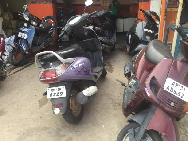 Honda Scooter Repair Services In Gajuwaka Visakhapatnam Two