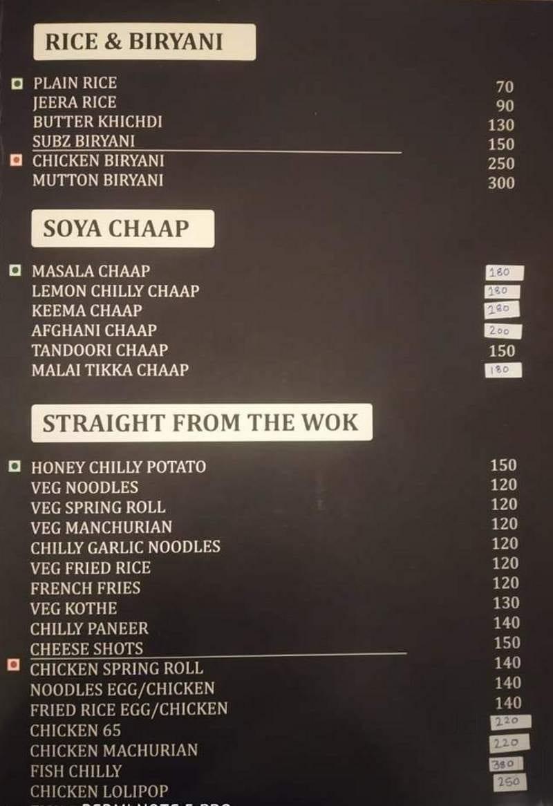 The Deck Cafe, Malviya Nagar, Delhi - Food Menu Card - Justdial