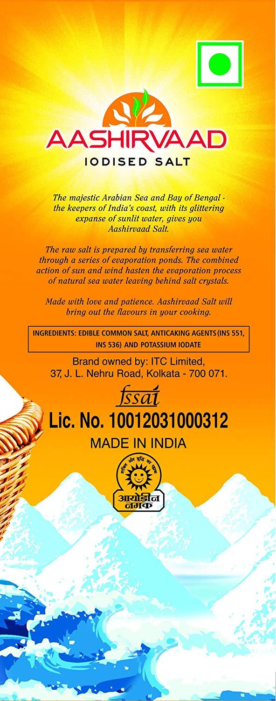 Aashirvaad Iodised Salt 1 Kg