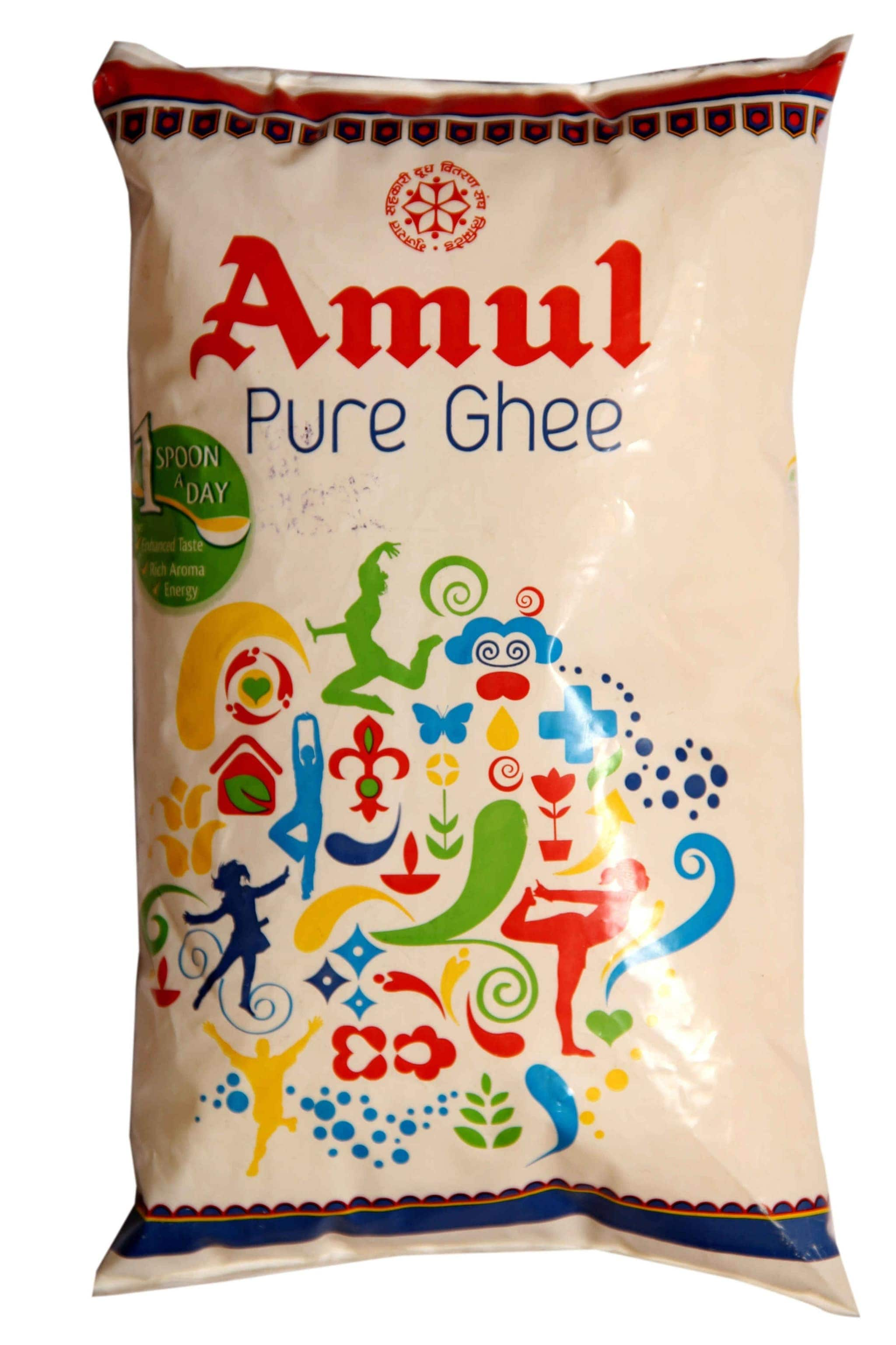 Amul Pure Ghee (Pouch) 1 Ltr