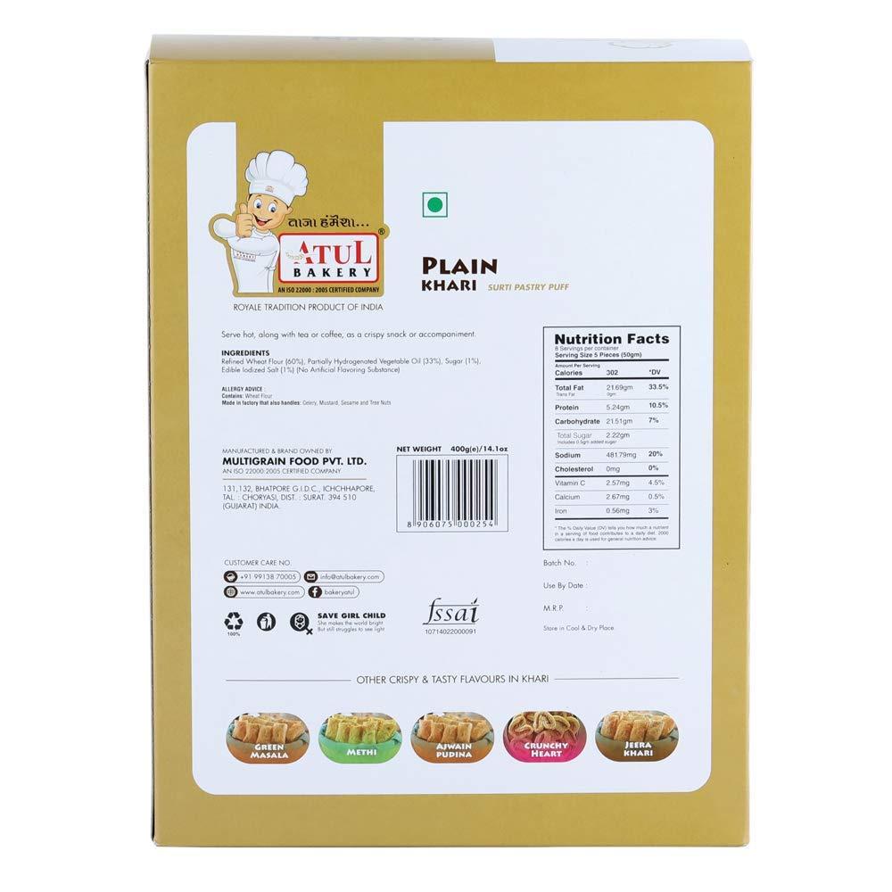 Atul Bakery Plain Khari