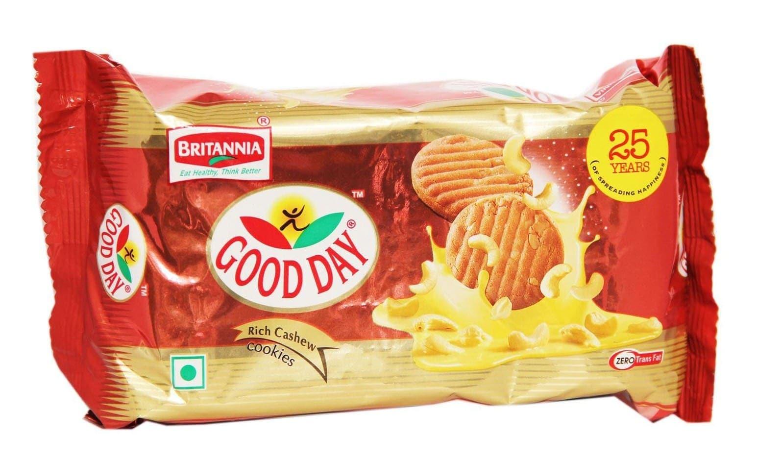 Britannia Good Day Rich Cashew Cookies 200 Gm