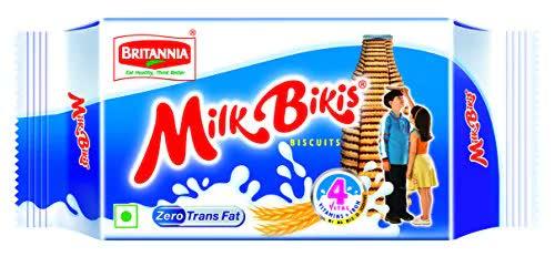 Britannia Milk Bikis Biscuit 85 Gm