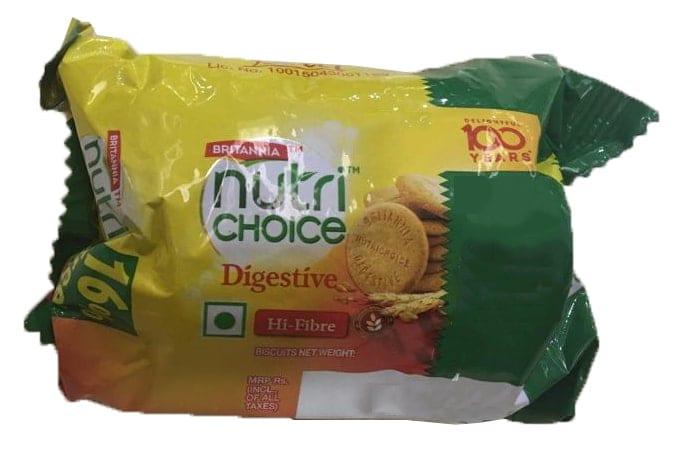 Britannia Nutri Choice Hi-Fibre Digestive Biscuit 75 Gm