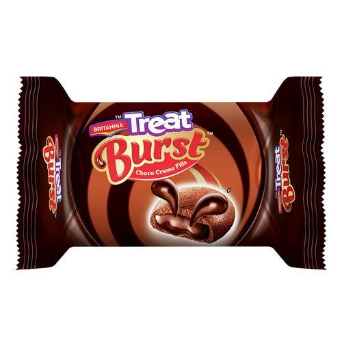 Britannia Treat Burst Choco Creme Fills Cookies 60 Gm