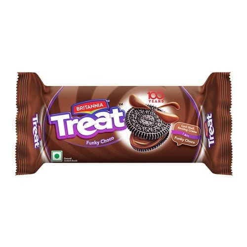 Britannia Treat Choco Cream Biscuits 100 Gm