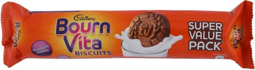 Cadbury Bournvita Biscuits 120 Gm