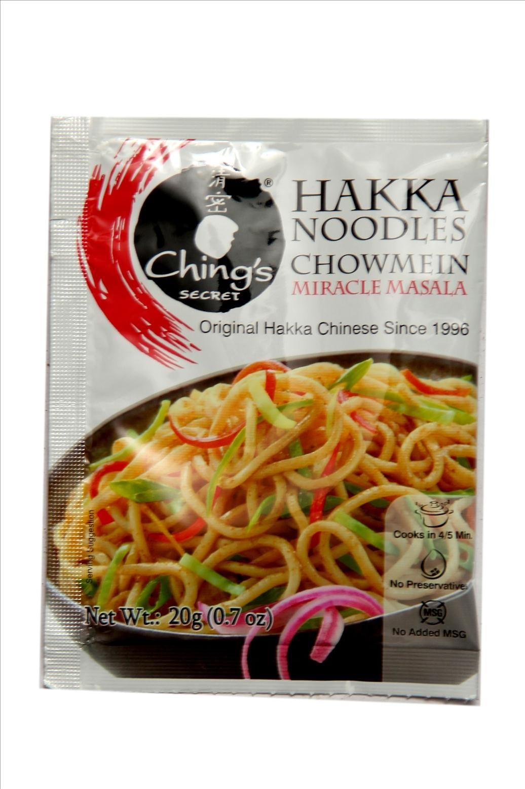 Ching's Secret Hakka Noodles Chowmein Miracle Masala 20 Gm